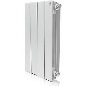 Радиатор отопления ROYAL Thermo биметаллический Piano Forte 500 Bianco Traffico 4 секции