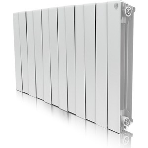 Радиатор отопления ROYAL Thermo биметаллический Piano Forte 500 Bianco Traffico 12 секций