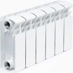 Радиатор отопления RIFAR BASE 200 6 секций биметаллический боковое подключение (RB20006)