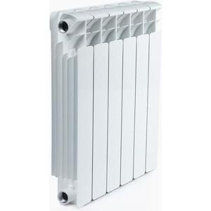 Радиатор отопления RIFAR BASE 500 6 секций биметаллический боковое подключение (RB50006)
