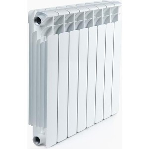 Радиатор отопления RIFAR BASE 500 8 секций биметаллический боковое подключение (RB50008) радиатор отопления rifar base 350 8 секций биметаллический боковое подключение rb35008