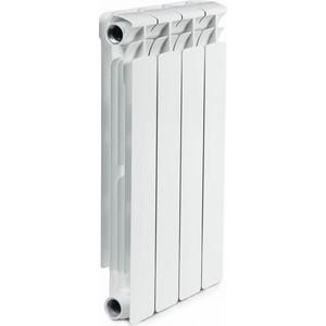 Радиатор отопления RIFAR ALP 500 4 секции биметаллический боковое подключение (RA50004) радиатор отопления rifar base 350 4 секции