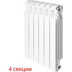 Радиатор отопления Global алюминиевые ISEO - 500 (4 секции) радиатор алюминиевый konner lux 4 секции 500 80