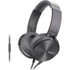 Наушники Sony MDR-XB950AP black наушники sony mdr ex155b black