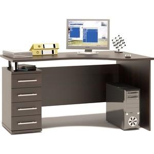 Стол компьютерный СОКОЛ КСТ-104.1 венге левый сокол мебель кст 105 венге