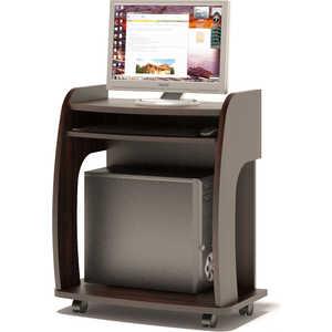Стол компьютерный СОКОЛ КСТ-103 венге подставка под сист блок сокол кт 103 венге