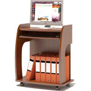 Стол компьютерный СОКОЛ КСТ-103 испанский орех письменный стол сокол кст 107 1