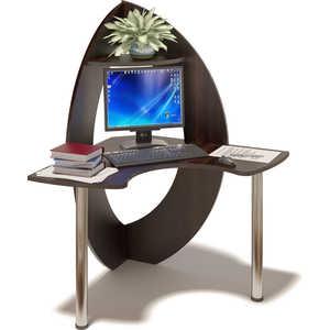 Стол компьютерный СОКОЛ КСТ-101 венге письменный стол сокол кст 107 1