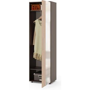 Шкаф для одежды СОКОЛ ШО-2 венге/беленый дуб