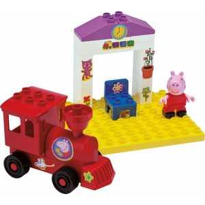 Конструктор BIG Поезд с остановкой Peppa Pig 57072