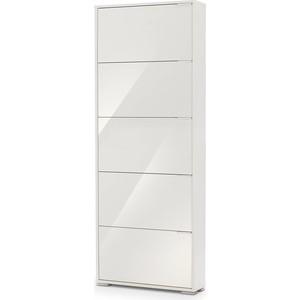 Фото - Обувница Вентал Арт Viva-5 стекло белый/белый глянец кеды мужские vans ua sk8 mid цвет белый va3wm3vp3 размер 9 5 43
