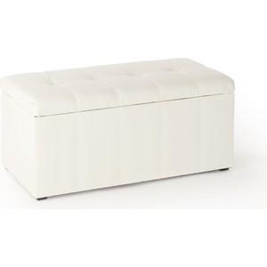 Банкетка Вентал Арт Парма-3 белый