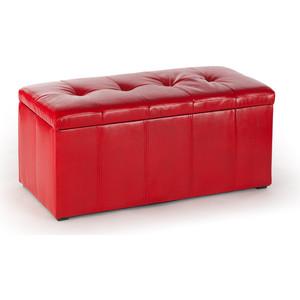 Банкетка Вентал Арт Парма-3 красный