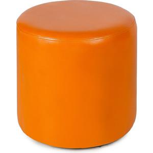 Пуф Вентал Арт ПФ-5 (круглый) оранж