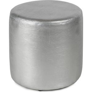 Пуф Вентал Арт ПФ-5 круглый серебристый
