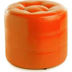 Пуф Вентал Арт ПФ-7 (круглый) оранж
