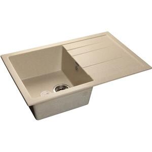 Кухонная мойка GranFest Quadro GF-Q780L белая цена