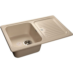 Кухонная мойка GranFest Standart GF-S780L белая