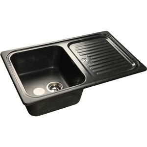 все цены на Кухонная мойка GranFest Standart GF-S780L черная онлайн