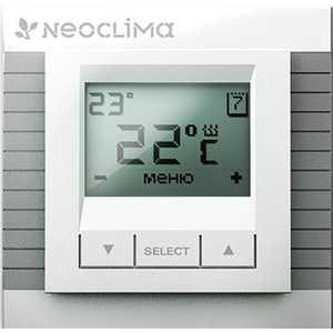 лучшая цена Терморегулятор Neoclima TN-DP/LCD