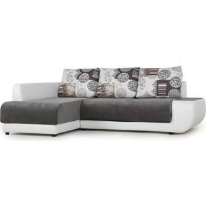 Диван угловой SettySet Нью Йорк левый белый диван угловой settyset нью йорк левый коричневый