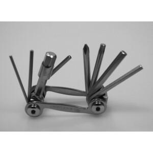 Набор шестигранников Bike Hand YC-286N / 9 в 1 супер-легкие, компакт