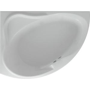 Акриловая ванна Акватек Альтаир 160х120 левая, фронтальная панель, каркас, слив-перелив (ALT160-0000067)