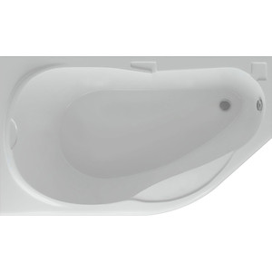 Акриловая ванна Акватек Таурус 170х100 левая, фронтальная панель, каркас, слив-перелив (TAR170-0000084)