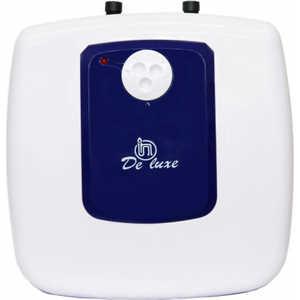 Электрический накопительный водонагреватель DeLuxe DSZF15-LJ/15CE (над мойкой) водонагреватель atlantic opro 10 sb электрический под мойкой 10л 2000вт 19мин