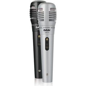 Фото - Микрофон BBK CM215 black/grey микрофон проводной thomson m152 3м black