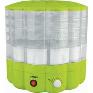 Сушилка для овощей Scarlett SC-FD421001, зеленый вентилятор scarlett sc 176