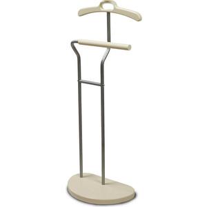 лучшая цена Вешалка костюмная Мебелик Д 10 металлик/слоновая кость