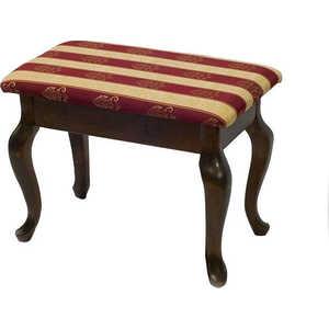 Банкетка Мебелик Ретро с ящиком темно-коричневый