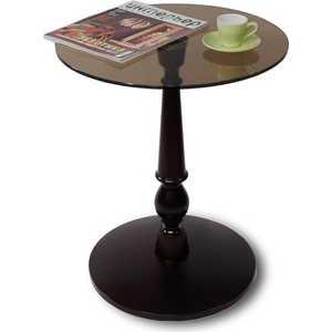 Стол журнальный Мебелик Рио 1 венге/тонированное мебелик стол журнальный рио 3 венге