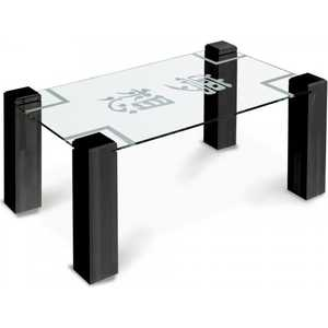 цена на Стол журнальный Мебелик Приз 2Н, венге прозрачное с иероглифом