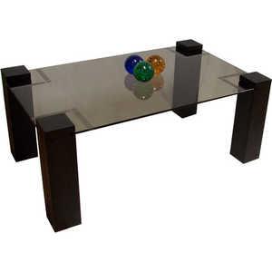 Стол журнальный Мебелик Приз 2Н венге тонированное без иероглифа