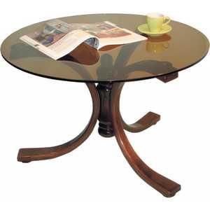 Стол журнальный Мебелик Лорд средне-коричневый/тонированное стол журнальный мебелик квартет 13 средне коричневый прозрачное
