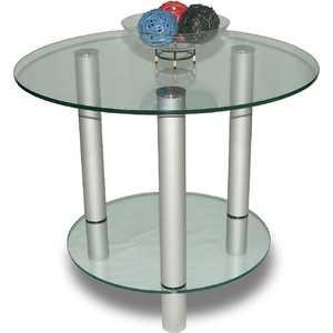 Стол журнальный Мебелик модель Танго прозрачное стекло стол журнальный мебелик сакура 3 эко кожа венге