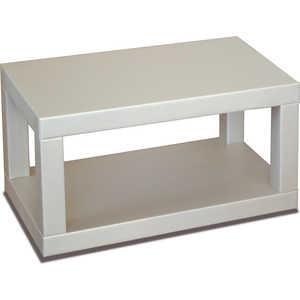 Стол журнальный Мебелик Сакура 2 эко-кожа/слоновая кость стол журнальный мебелик сакура 1 эко кожа слоновая кость