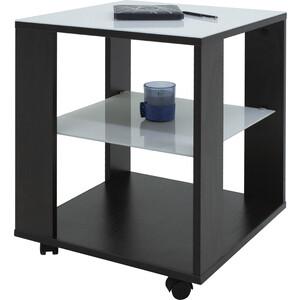 Стол журнальный Мебелик BeautyStyle 6 венге/стекло белое mayer стол журнальный mayer 2 венге стекло белое