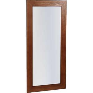 купить Зеркало навесное Мебелик Берже 24-90 темно-коричневый по цене 3120 рублей