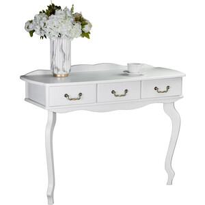 Консоль Мебелик Берже 6 белый ясень стол журнальный мебелик берже 1 белый ясень