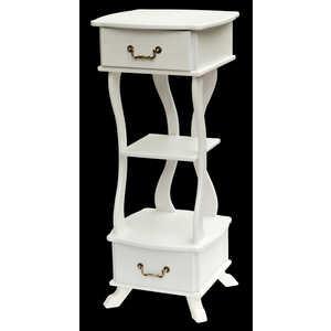 Подставка Мебелик Берже 14 белый ясень стол журнальный мебелик берже 1 белый ясень