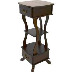 Подставка Мебелик Берже 14 темно-коричневый блуза zarina zarina mp002xw0r9r3