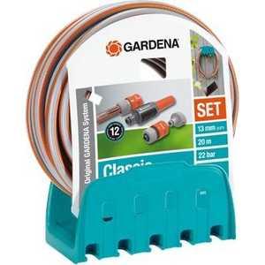 Кронштейн настенный Gardena со шлангом Classic 20м 1/2 (18005-20.000.00)
