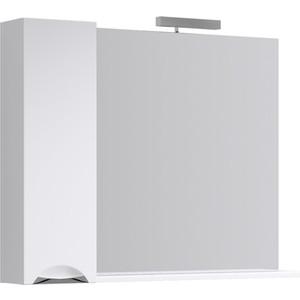 Зеркало-шкаф Aqwella Line 105x82 белый (Li.02.10)
