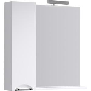 Зеркало-шкаф Aqwella Line 85x82 белый (Li.02.08)