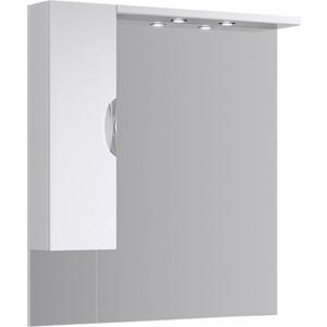 Зеркало-шкаф Aqwella Ecoline 105x108 с подсветкой, белое (Eco-L.02.10)