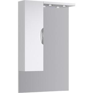 Зеркало-шкаф Aqwella Ecoline 75x108 с подсветкой, белое (Eco-L.02.07)