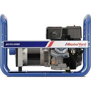 Генератор бензиновый MasterYard MG8000R Access культиватор masteryard mb 40r